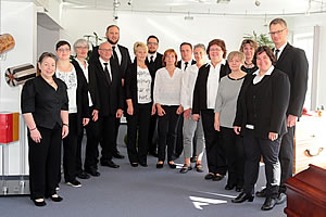 Das Team vom Bestattungs-Institut Berdon